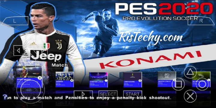 Latest PES 2020 PSP Iso File For PPSSPP Android Download