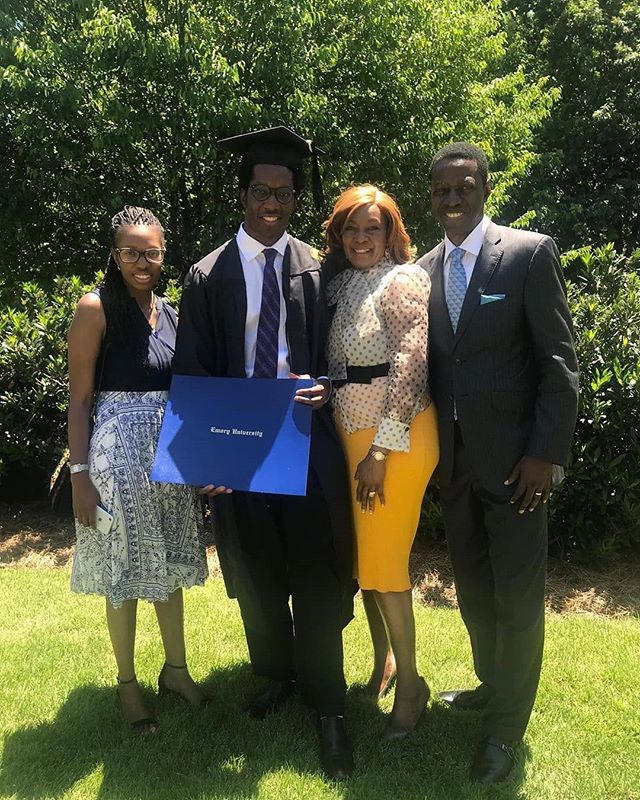 David, Sam Adeyemi Son Graduates From Emory University (Photo)