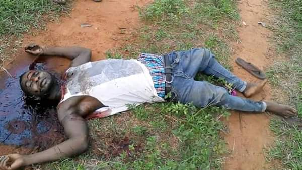 Cultists Kill A Man In Ebonyi State (Graphic Photos)