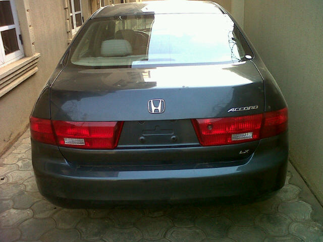 toks 2005 honda accord lx autos nigeria. Black Bedroom Furniture Sets. Home Design Ideas