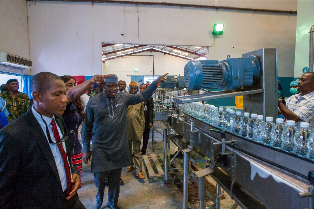 Gossy Water Returns As Fayemi Commissions Production Plant