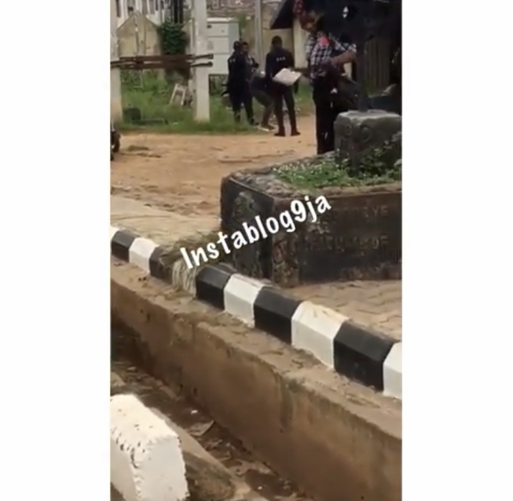 Police Storm Poly Ibadan To Punish Students Dressed Indecently
