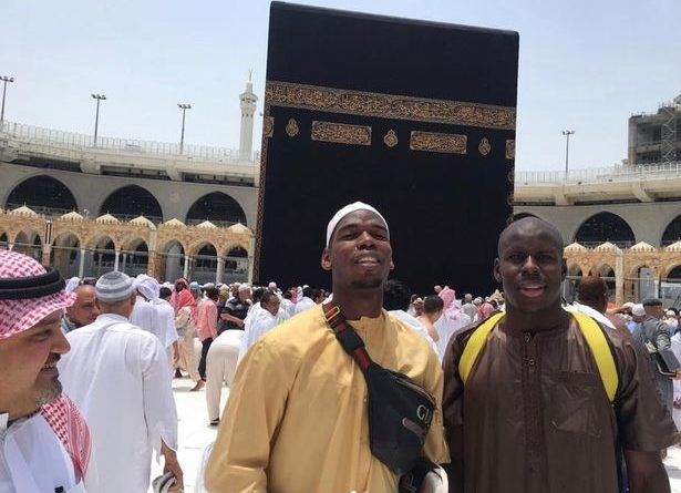 Paul Pogba Opts For Ramadan Trip To Mecca Rather Than Holidaying
