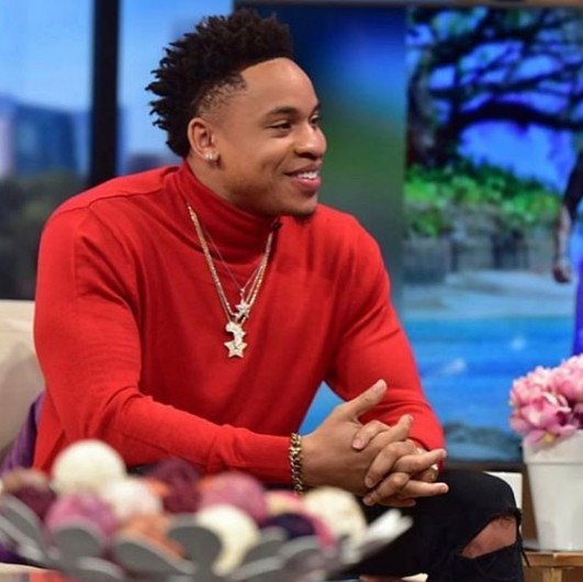 Image result for Nigerian born 'Power' star, Rotimi is quite thankful after he bought his first house