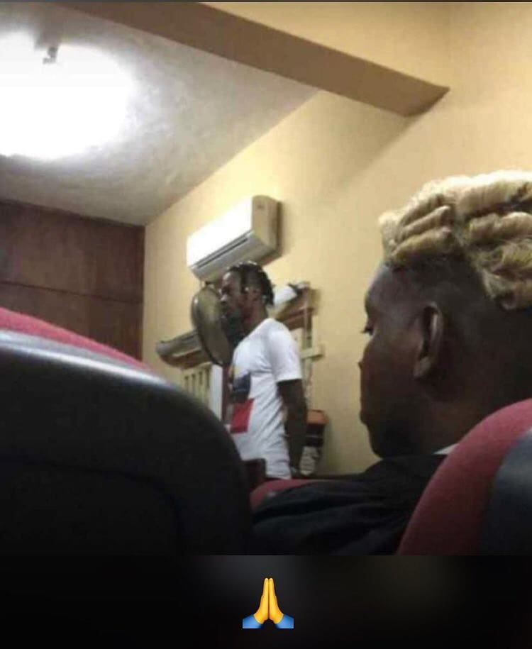 Image result for Photos of Naira Marley in court