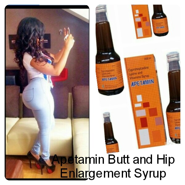 Apetamin Weight Gain, Butt And Hip Enlargement Syrup @5000 ...