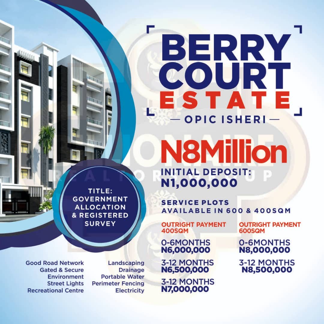 *berry Court, Omole Phase 2 Extension Relaunched