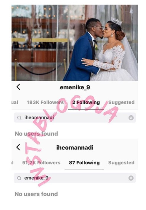 Footballer Emenike's Wedding Reportedly clashes Barely A year After Wedding Beauty Queen.