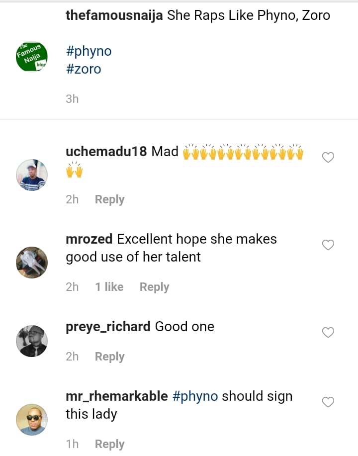 Young Lady Who Raps Like Phyno And Zoro, Don Jazzy Reacts
