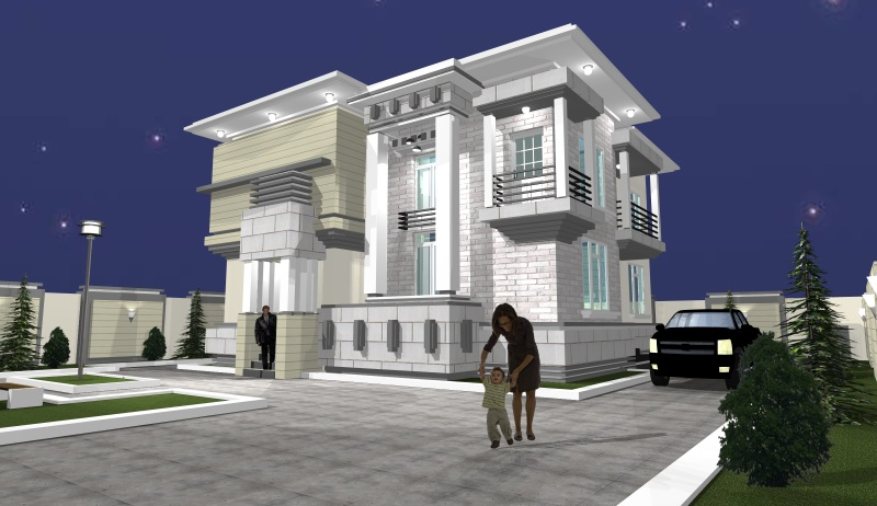 Cost of building a house in nigeria properties 13 nigeria for Architectural design homes pictures