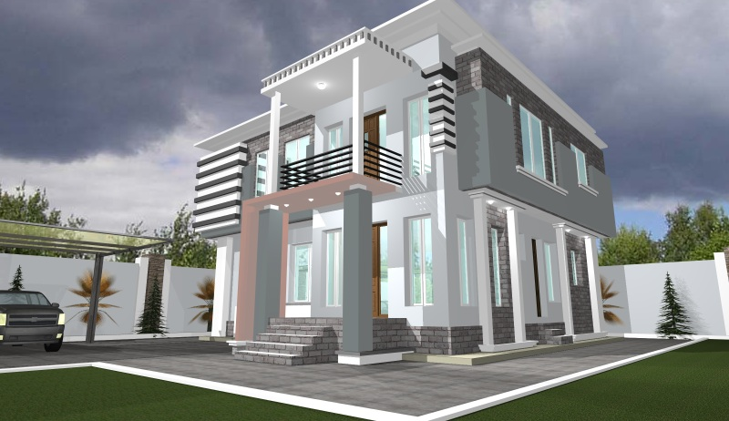 Architectural designs for nairalanders who want to build for Duplex building prices