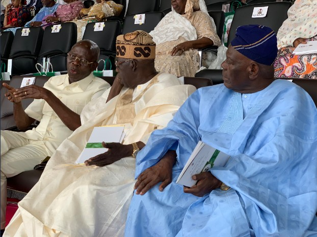 Tinubu, Gowon, Others Arrives At Eagle Square For Pre. Buhari's Inauguration