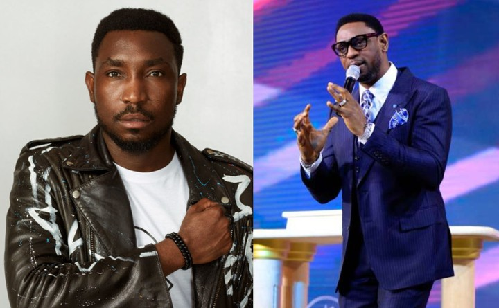 ''Sue us if you dare''- Timi Dakolo tells COZA Pastor, Biodun Fatoyinbo amidst rape allegations