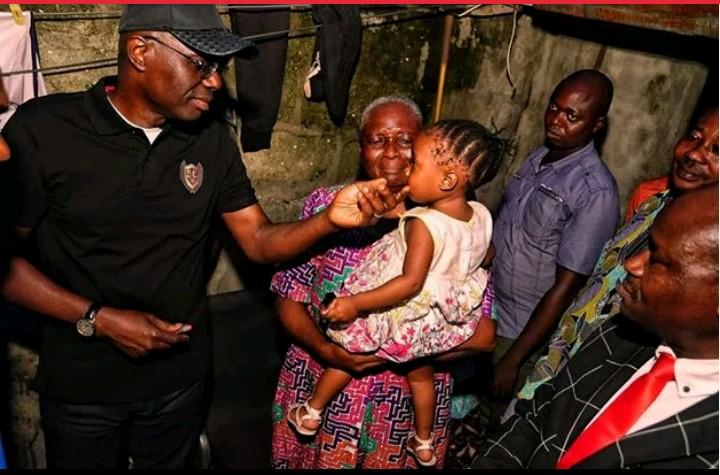 Image result for Sanwo-olu Visit The Family Of Slain LASTMA Officer