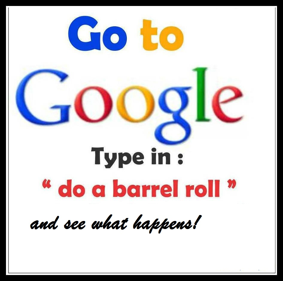 watch google do a barrel roll programming nigeria