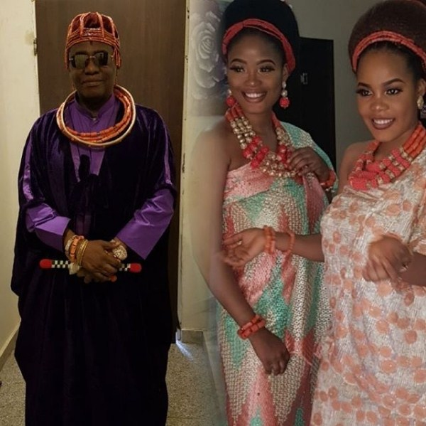 Young Oba Of Benin's 5th Wife Celebrates Her Birthday With