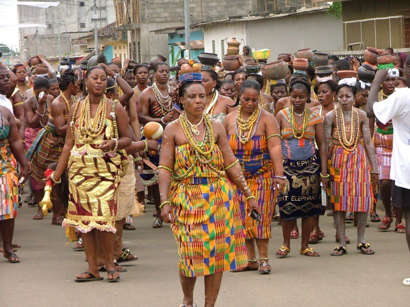 Image result for women of the Akan people