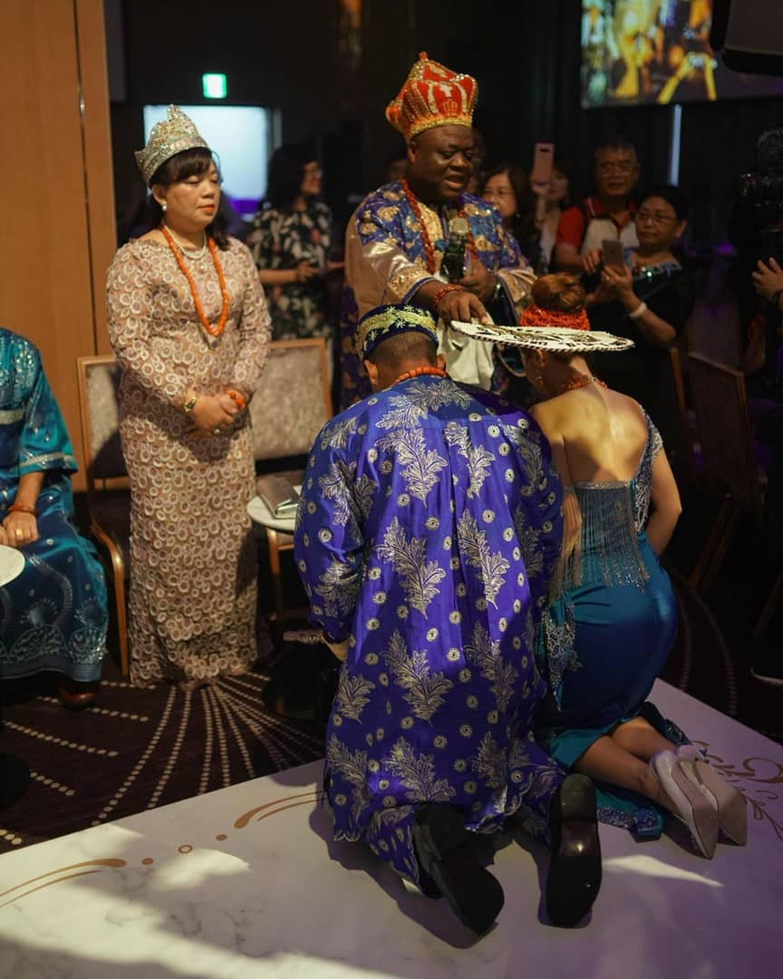 Photo Gallery Nigerian Wedding: Traditional Wedding Of Igbo Man And Chinese Lady (More
