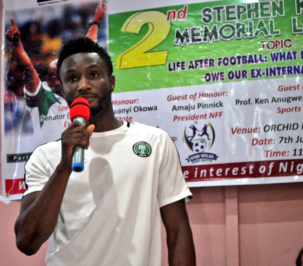 Super Eagles Players And Staff At Stephen Keshi Memorial Lecture In Asaba