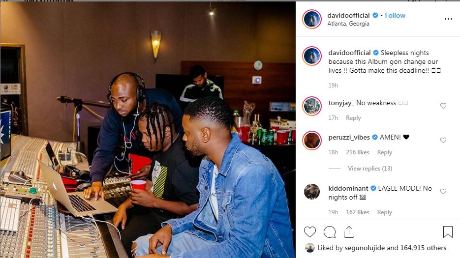 top 5 reasons that proves davido is the most dedicated musician in nigeria TOP 5 REASONS THAT PROVES DAVIDO IS THE MOST DEDICATED MUSICIAN IN NIGERIA 9582801 davido jpeg1a5b1c3e84cff3b188733c1e87433940