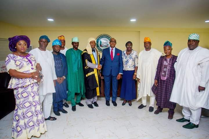 Photos: Dapo Abiodun Pictured With Ogun State 9th Assembly 1