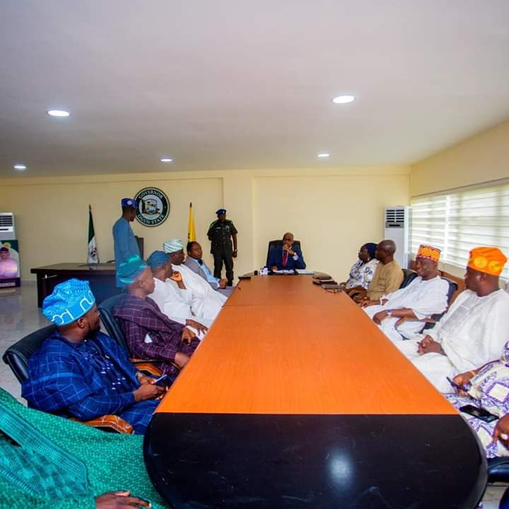 Photos: Dapo Abiodun Pictured With Ogun State 9th Assembly 2