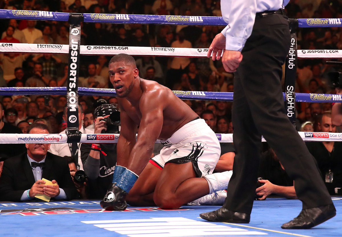 Anthony Joshua Drops Down To Number Four In World Heavyweight Ranking [see Top 5