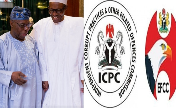 Obasanjo Accuses Buhari Of Corruption, Says He Tampered With EFCC And ICPC