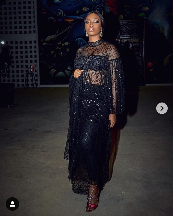 Photos: Bambam Step Out In See-through Dress 1