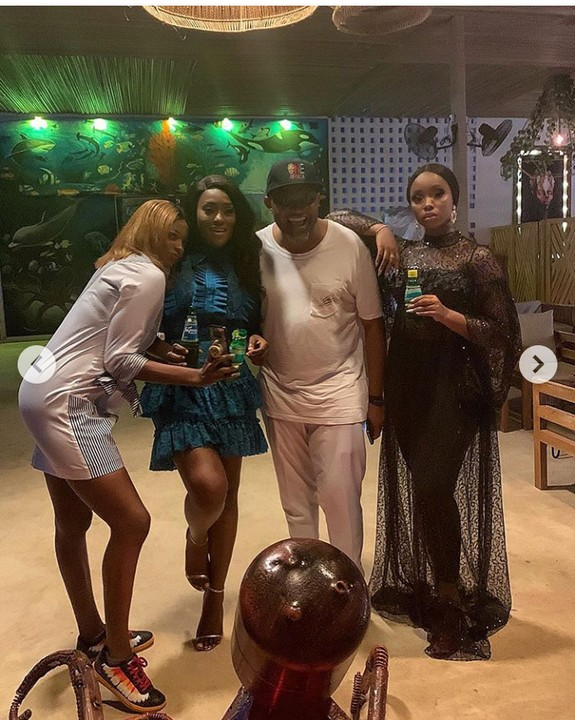 Photos: Bambam Step Out In See-through Dress 3