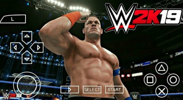 WWE 2K19 ISO PSP - PPSSPP Highly Compressed For Android