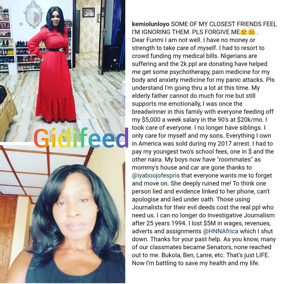 """Everything I Owned In America Was Sold During My 2017 Arrest"""" - Kemi Olunloyo"""