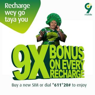 9mobile Offers Customers With Bonus Airtime 1