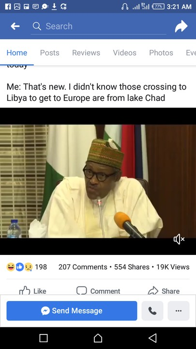 People Are Crossing The Desert To Europe Because Lake Chad Dried Up- Buhari 2