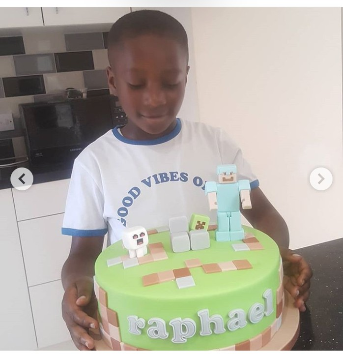 Veteran Nollywood actress, Patience Ozokwo celebrates her grandson on his birthday 1
