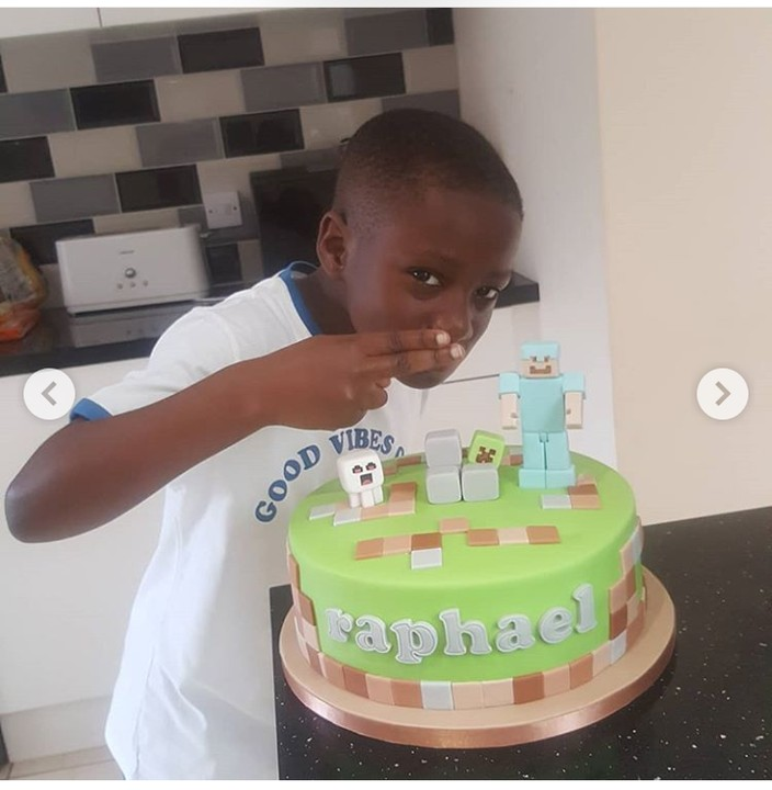 Veteran Nollywood actress, Patience Ozokwo celebrates her grandson on his birthday 2