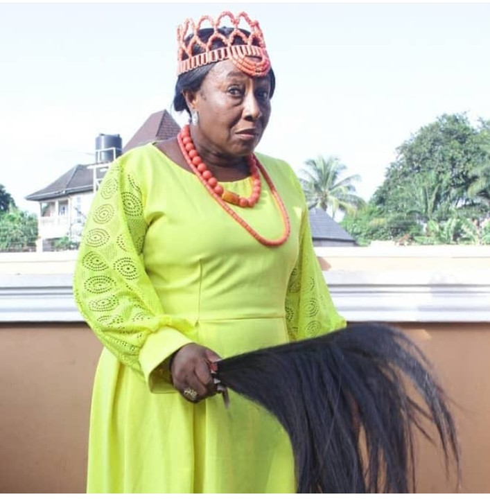 Veteran Nollywood actress, Patience Ozokwo celebrates her grandson on his birthday 3