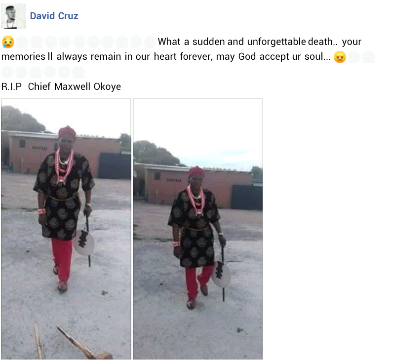 Photos of the Nigerian man that was tortured to death by South African police 2