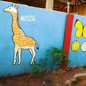 As Seen On The Wall Of A School (pix)