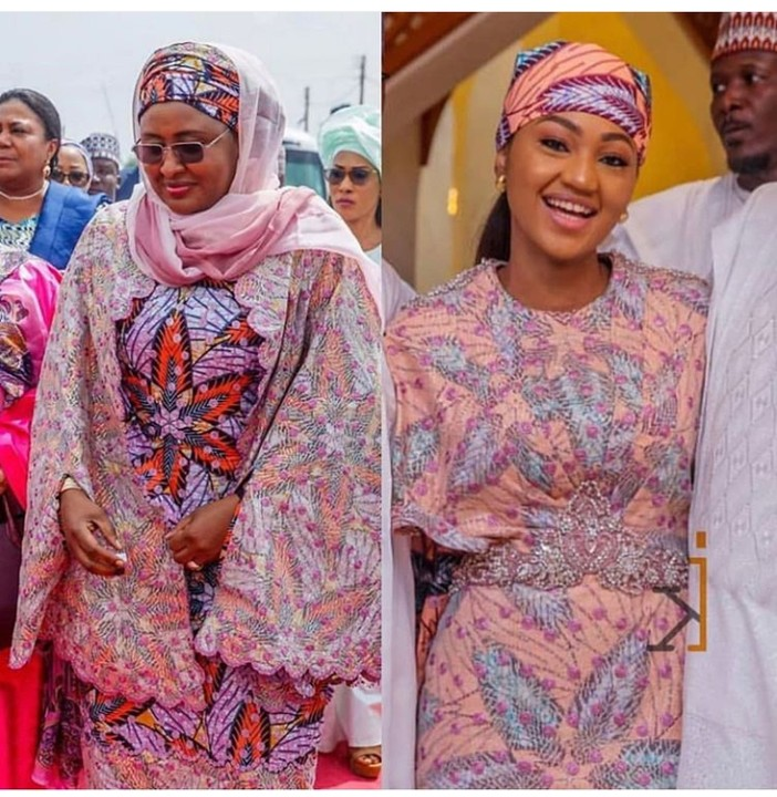 Who Rocked This Ankara Outfit Better. First Lady Or First Daughter? 1