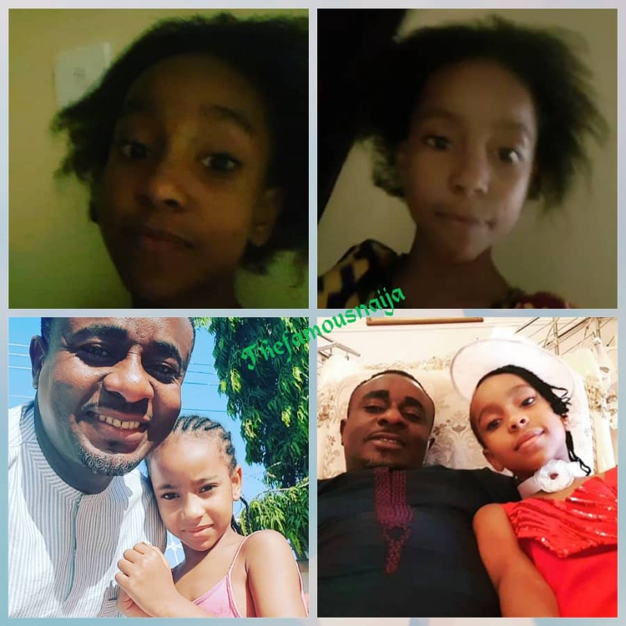 Popular actor, Emeka Ike marked his daughter's birthday today 1