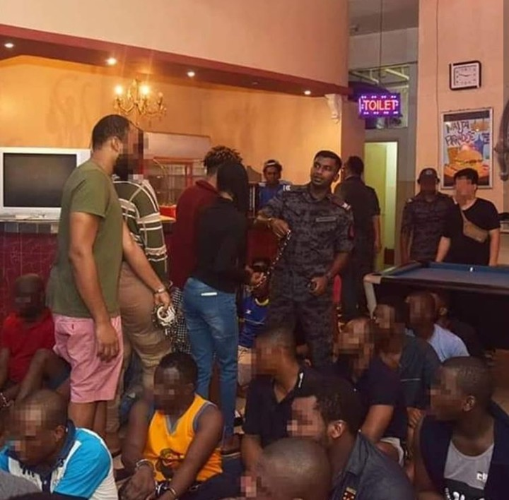 Nigerians Arrested In Raid By Malaysian Immigration