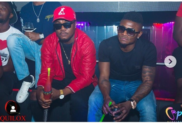 Photos Of Footballer, Obafemi Martins With CDQ And Slimcase 3