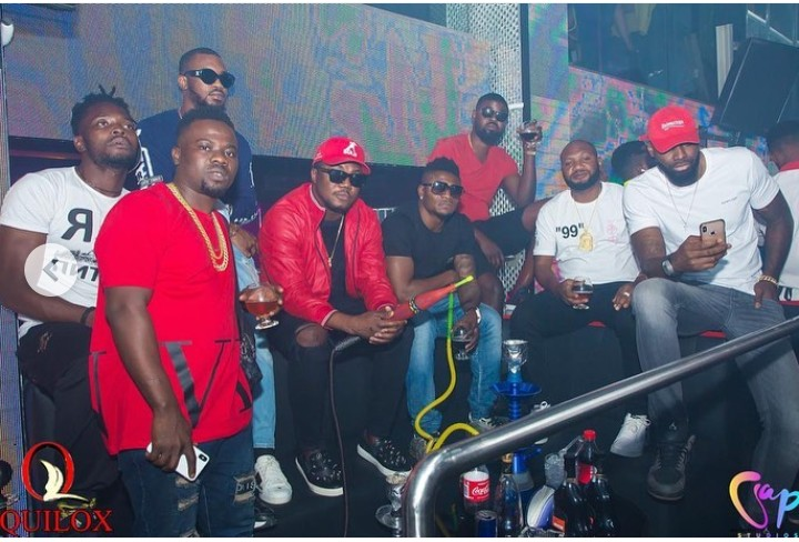Photos Of Footballer, Obafemi Martins With CDQ And Slimcase 4