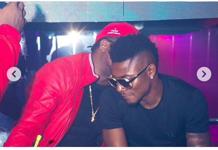 Photos Of Footballer, Obafemi Martins With CDQ And Slimcase 5