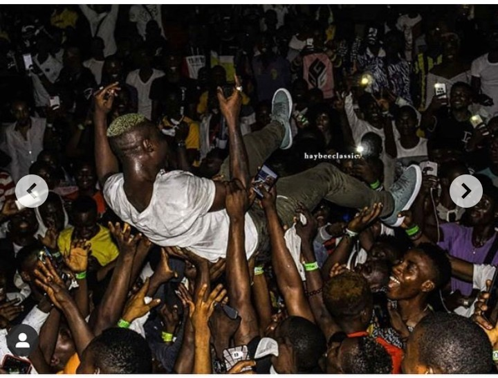 Zlatan Ibile Shares 2013, 2018, 2019 Photos As Fans Carry Him Up 2