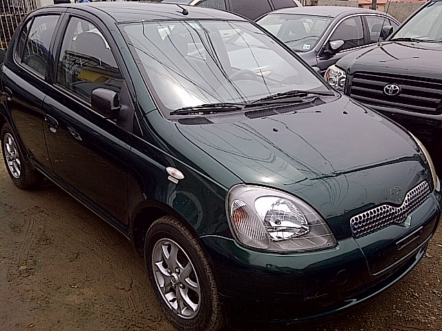 tokunbo toyota yaris 2001 model autos nigeria. Black Bedroom Furniture Sets. Home Design Ideas