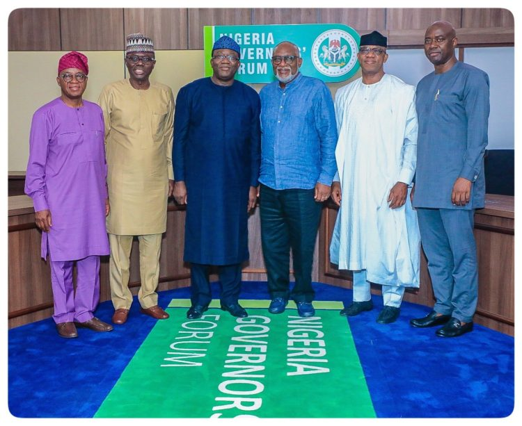 Photos: Nigeria Governors Forum Meets In Abuja Today 1