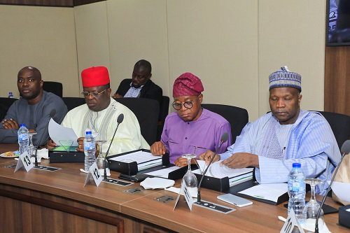 Photos: Nigeria Governors Forum Meets In Abuja Today 3