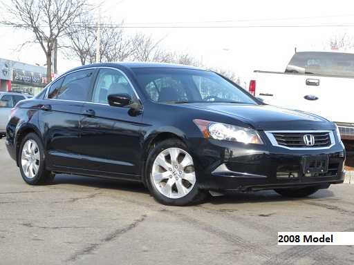 know the difference between the 2008 2009 and 2010 honda
